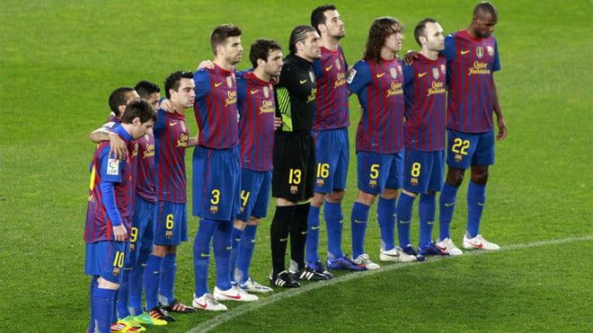 قميص برشلونة  موسم 2011-2012