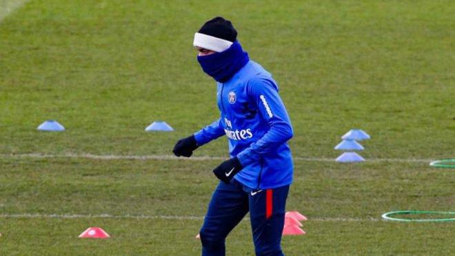 تدريبات باريس سان جيرمان قبل مواجهة ريال مدريد تشهد أخبار سارة