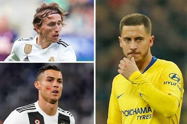 هازارد :  الفائز بالكرة الذهبية سيكون بعيداً عن ريال مدريد