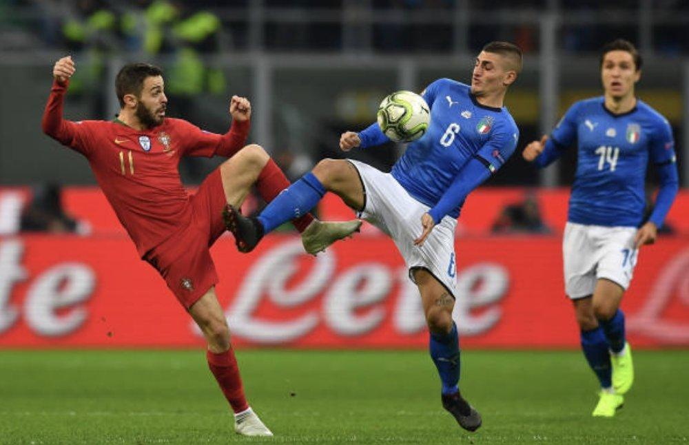 البرتغال و ايطاليا