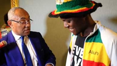 مشجع زيمبابوي