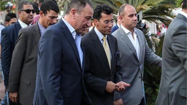 إجتماع بين مجلس الأهلي و وزير الرياضة