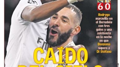Photo of أسطورة ريال مدريد الجديد يتصدر صحف إسبانيا