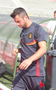 Steven Defour - in midfield for Anderlecht.