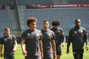 Witsel, Chadli and Benteke look likely to start, but without Hazard and Fellaini