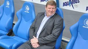 Hein Vanhaezebrouck - settling in at Gent (picture - http://www.kaagent.be/)