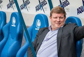 Hein Vanhaezebrouck - looking relaxed (picture - kaagent.be)
