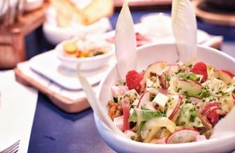 Endive & Raspberry Salad