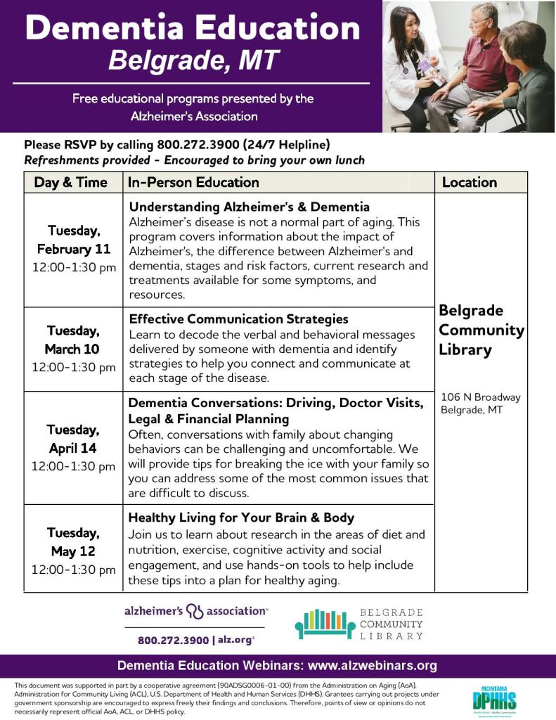 Dementia Education Info
