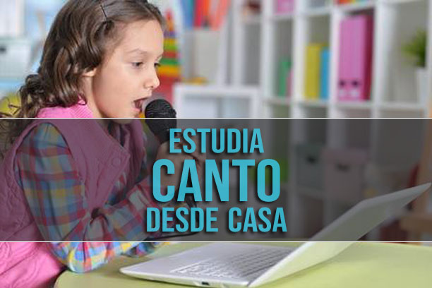 Estudia canto de manera virtual