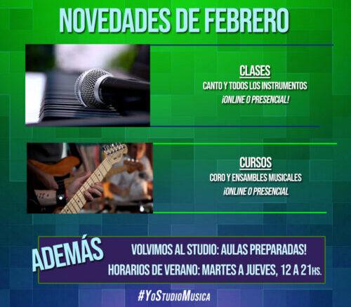 Novedades Febrero 2021 - Belgrano Studio