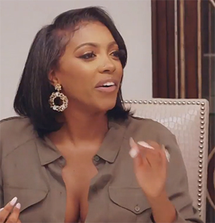 Porsha Williams Real Housewives of Atlanta Natural Hair Thinning Edges