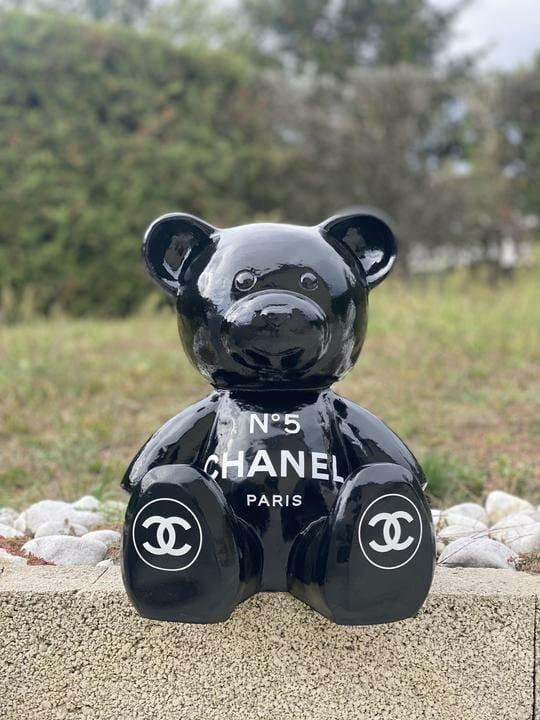 Ourson Chanel noir 2