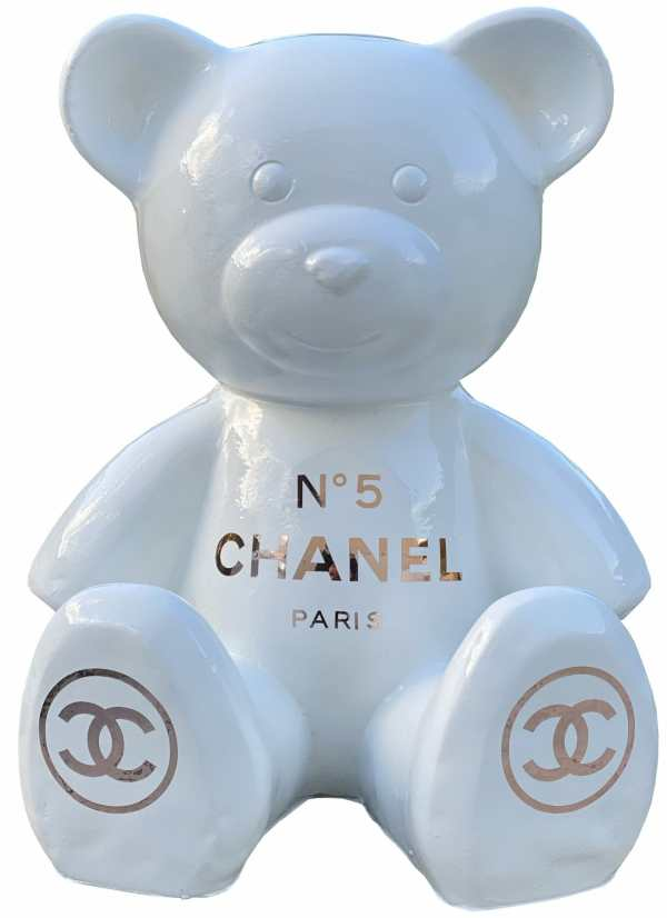Ours Chanel Blanc 2