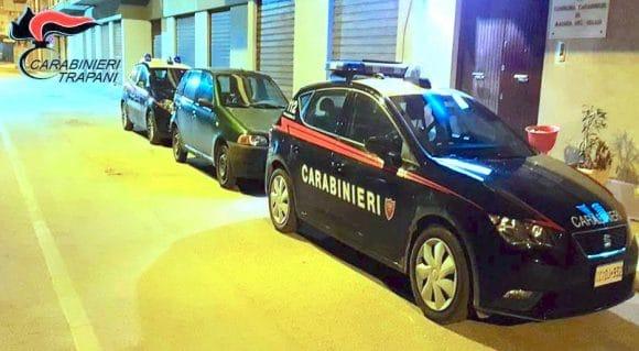 Arrestati due giovani castelvetranesi per il furto di un'auto
