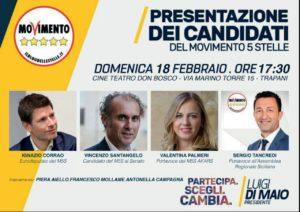 Politiche 2018, a Trapani M5S presenta i candidati