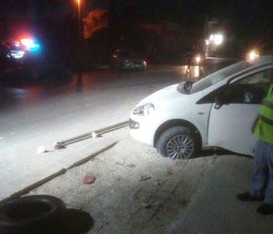 Incidente stradale nella notte a Strasatti
