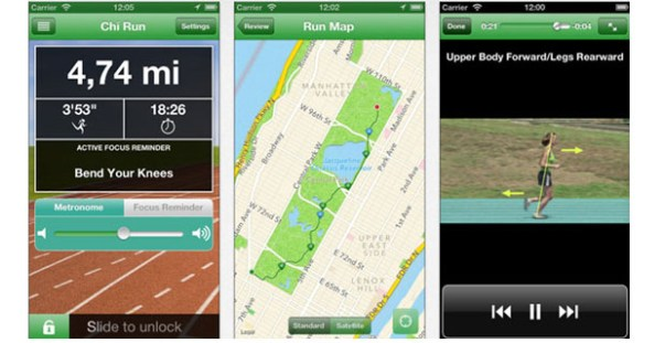 Chi Running iPhone App Review