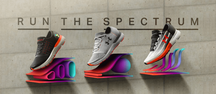 Under Armour Run The Spectrum Collection