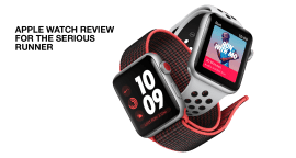 Apple Watch Series 3 for the serious runner