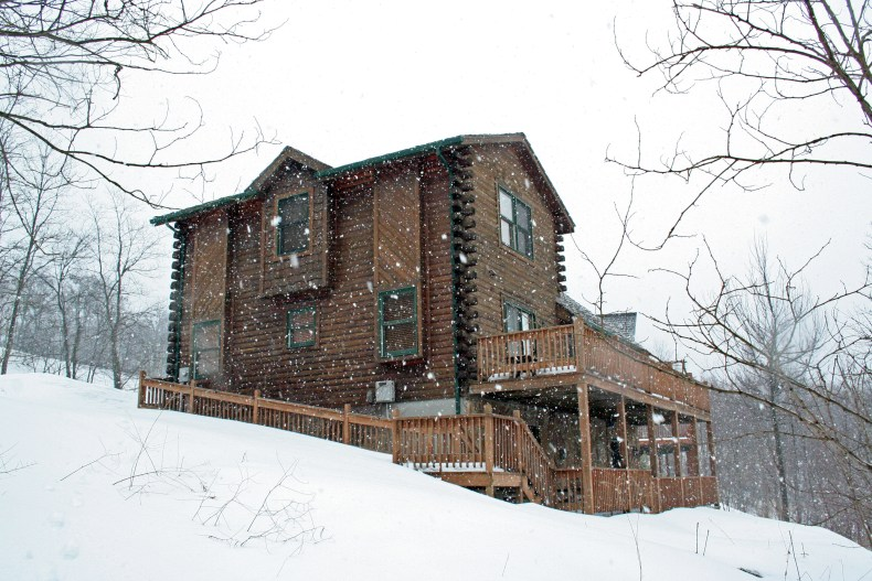 The Believe In Tomorrow House on Wisp Mountain
