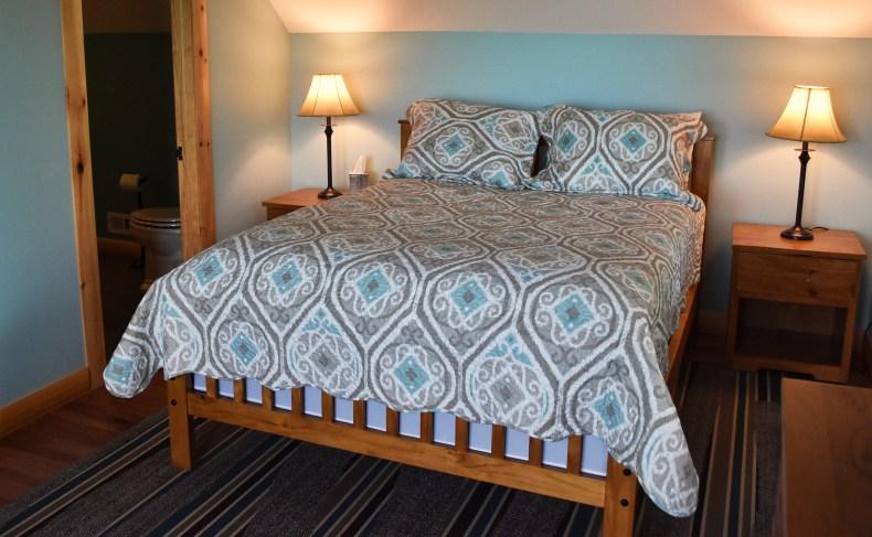 The Believe In Tomorrow House at Deep Creek Lake bedroom