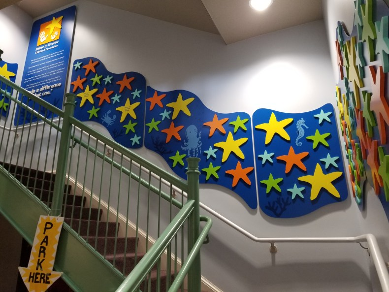 The Children's House at Johns Hopkins Starway of stars