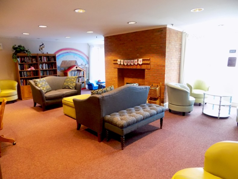 The Children's House at Johns Hopkins library