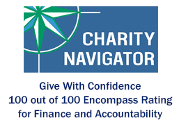 Believe In Tomorrow has Charity Navigator Give With Confidence: 100 out of 100 Encompass Rating for Finance and Accountability