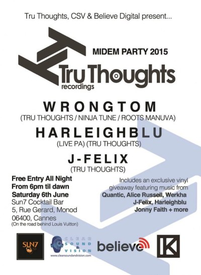 tru thoughts party