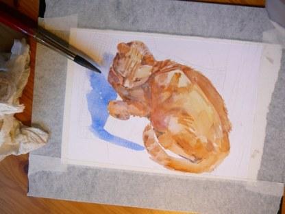 watercolor-of-a-cat