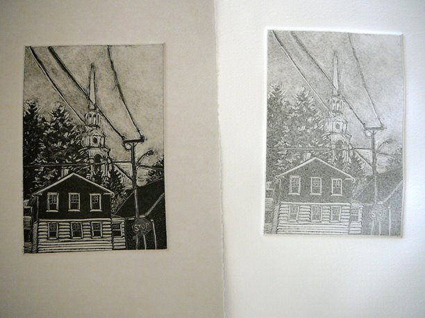 difference between monotype and monotype ghost print