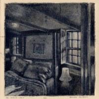 Making a Silk Aquatint: The Captain's Cabin