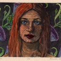Linocut: Thistle (& gift ideas for beginner printmakers)