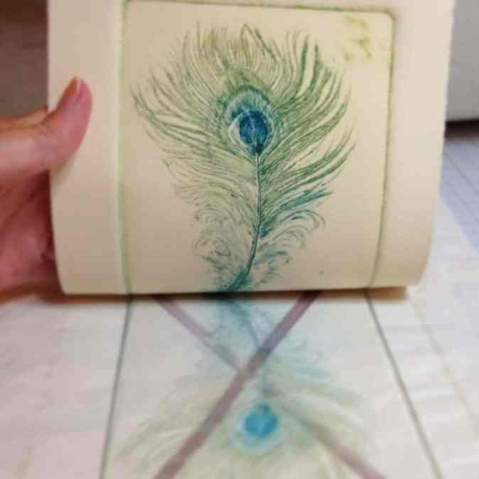 drypoint from plexiglass