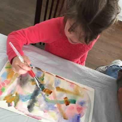learning to be an artist