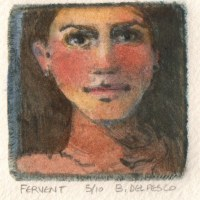 Drypoint Printmaking: Fervent (& small, affordable printmaking press alternatives)
