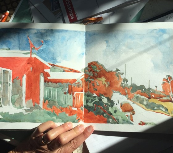 handbook watercolor sketchbook