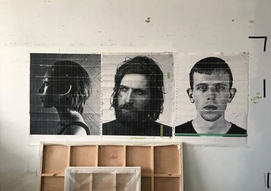 grid drawings from charles Bierk's studio