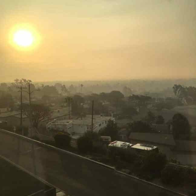 air quality in ventura after thomas fire