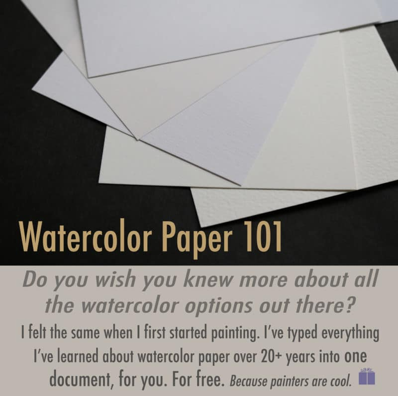 Which watercolor paper is best for beginner painters?