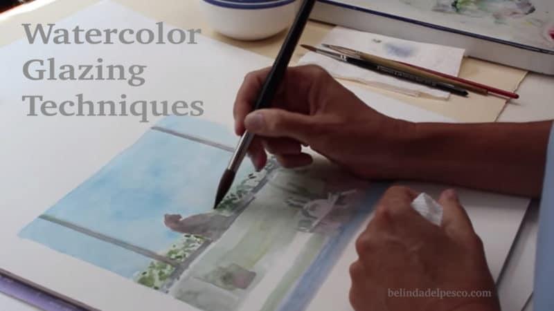 Watercolor Glazing Technique Demonstration