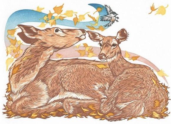 Woodcut by Nick Wroblewski