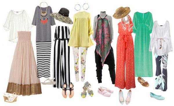 tips memilih pakaian pantai