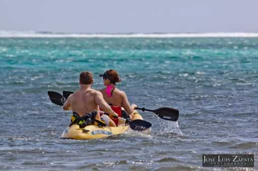 Kayaking in Belize is an adventurous way to explore the sea