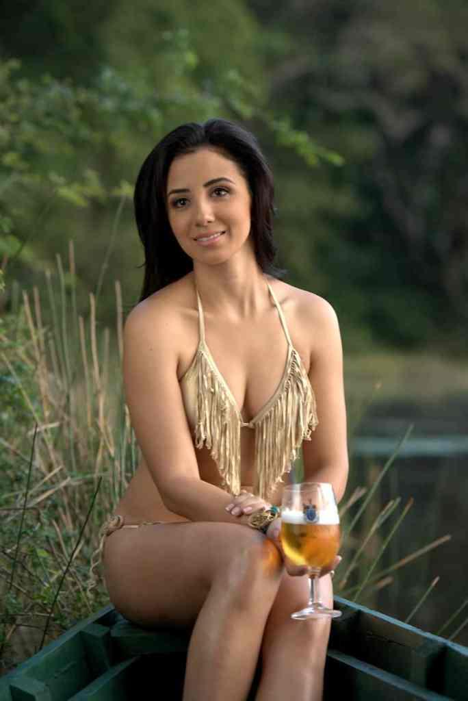 Belikin Beer Calendar Belizean model 2014
