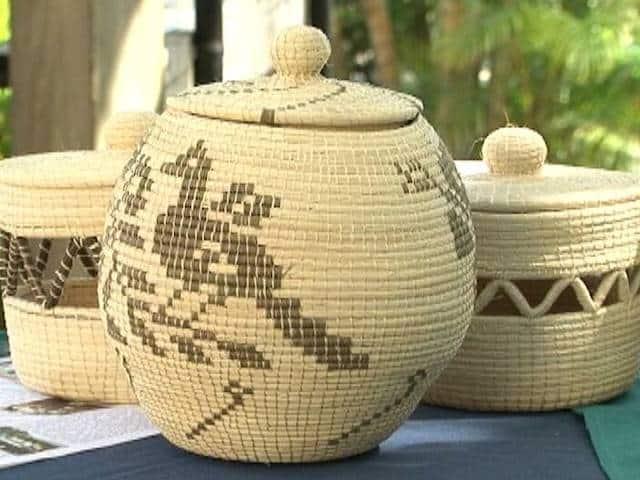 mayan basket in Belize
