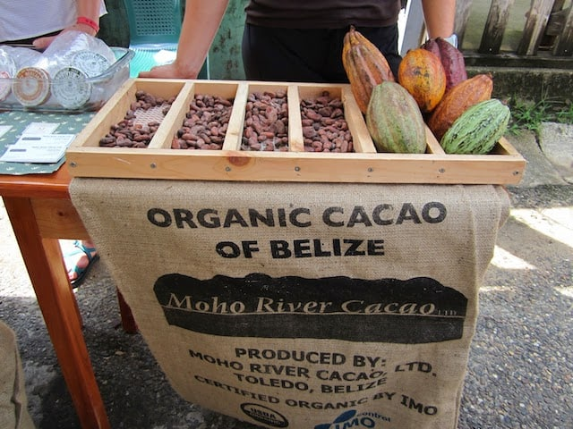 Belizean chocolate