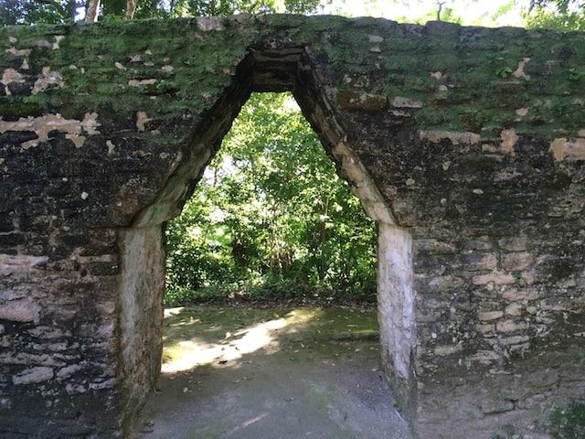 Maya corbel arch