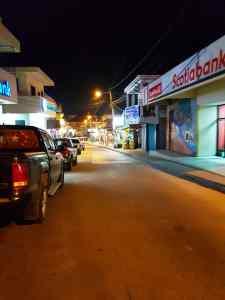 san ignacio shuttle at night